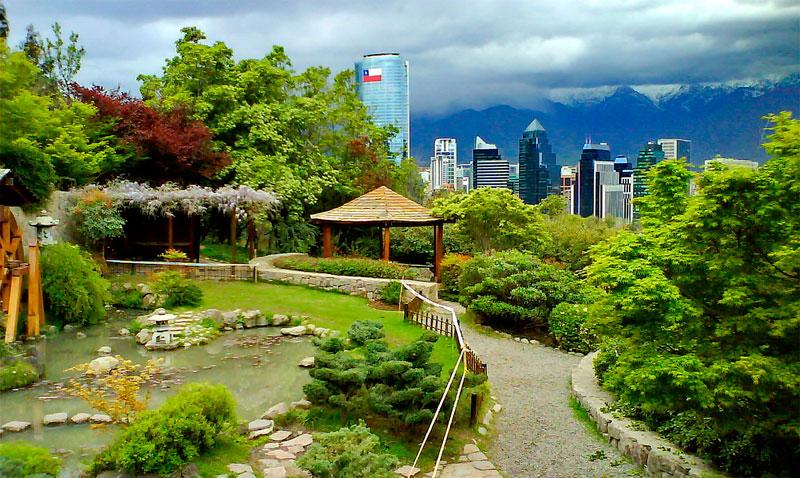 Jard n japon s de santiago for Jardin japones de santiago
